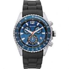 Accurist Mens Quartz Watch With Blue Dial
